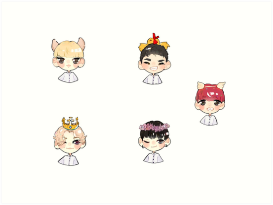 A.C.E chibi by toe-wow