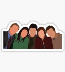 HOW I MET YOUR MOTHER CAST  Sticker