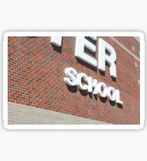 School Sticker