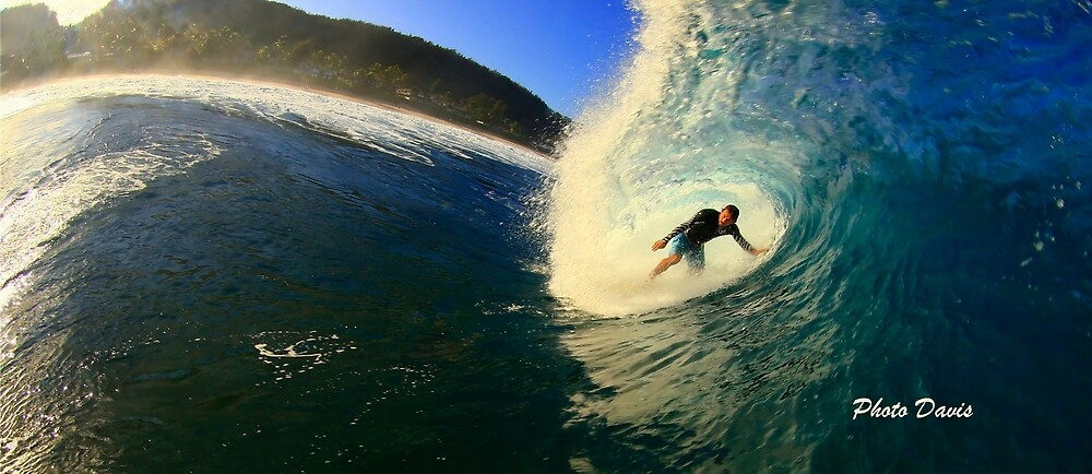 Into the barrel  by Gosha Davis