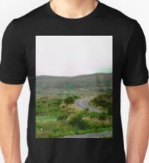 Winding Road in Donegal, Ireland Unisex T-Shirt