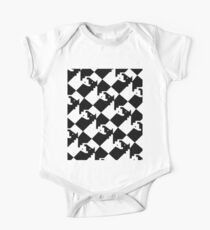 Chess Board - Interlocking Knights  Kids Clothes