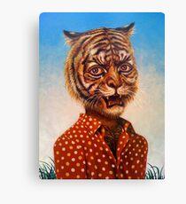 Tiger Man Canvas Print