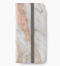Civezza - rose gold marble iPhone Wallet/Case/Skin