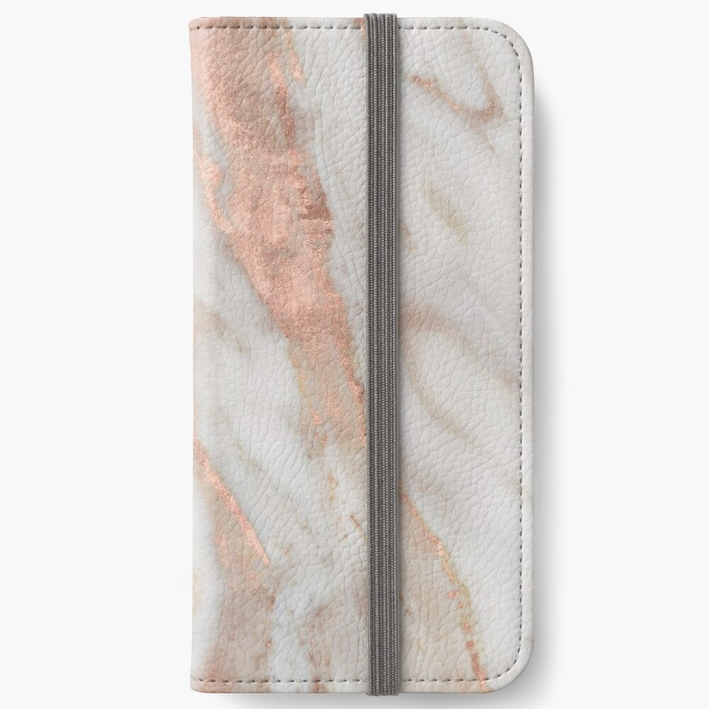 Civezza - rose gold marble iPhone Wallet