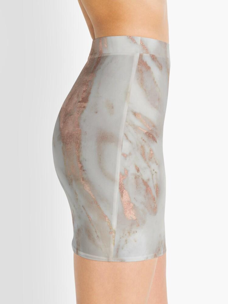 Alternate view of Civezza - rose gold marble Mini Skirt