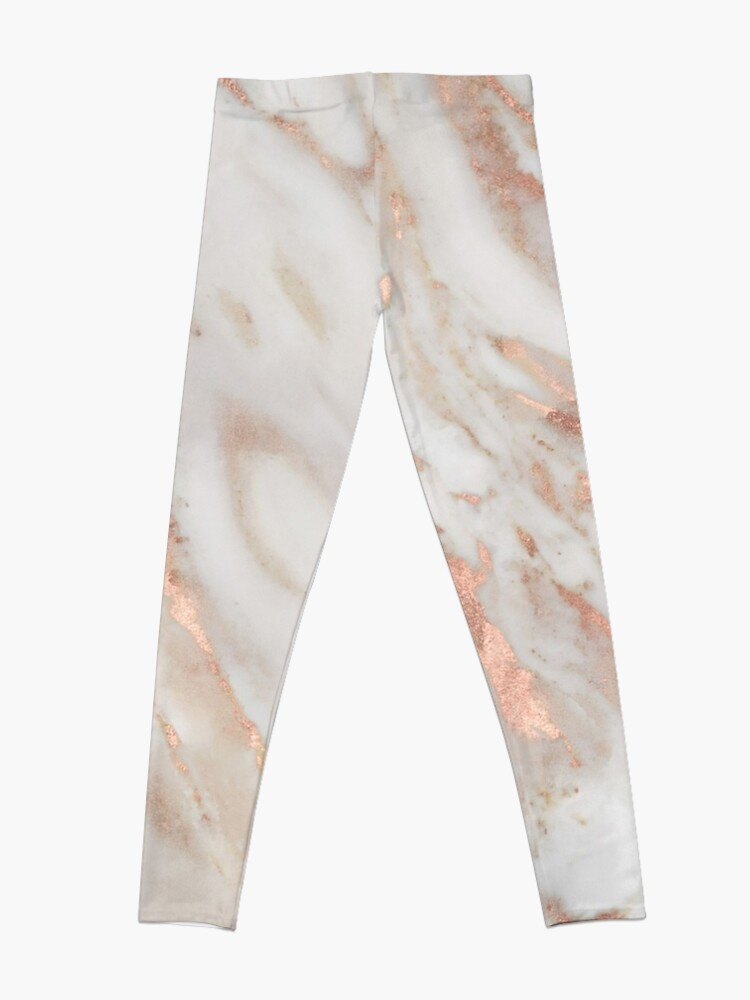 Alternate view of Civezza - rose gold marble Leggings