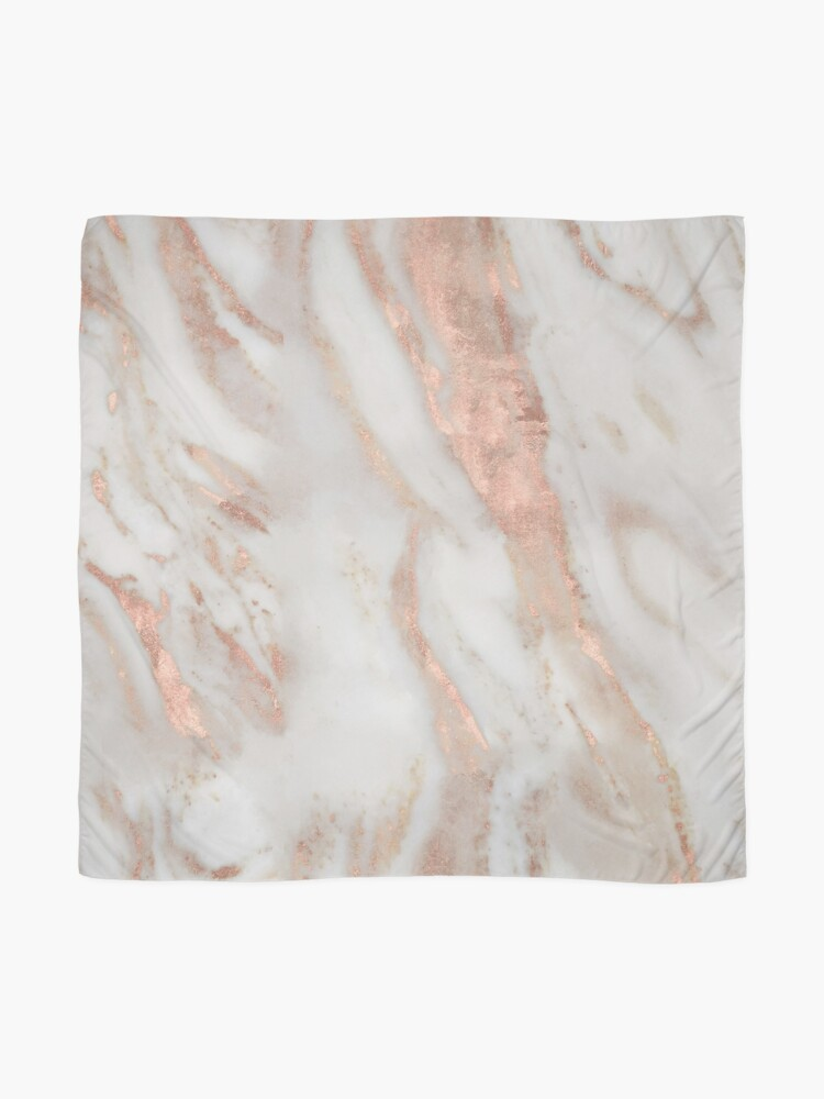Alternate view of Civezza - rose gold marble Scarf
