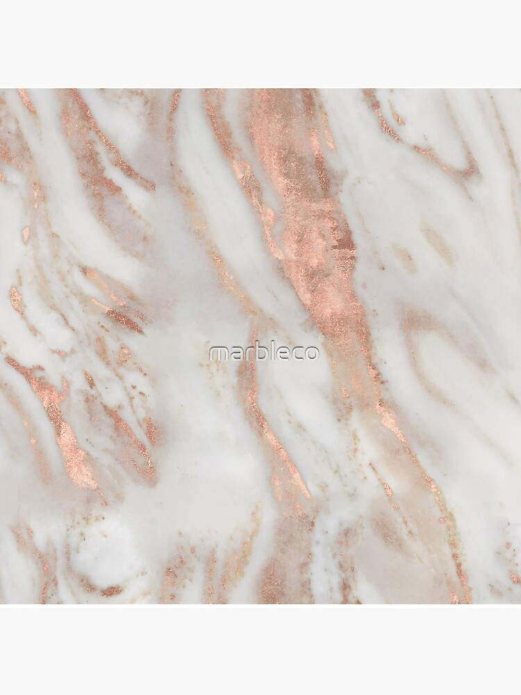 Civezza - rose gold marble by marbleco