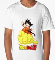 little kid goku Long T-Shirt