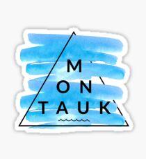 Pegatina Triángulo de Montauk
