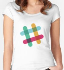 Slack Women's Fitted Scoop T-Shirt