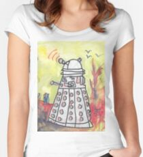 EXTERMINATE! Redux Women's Fitted Scoop T-Shirt