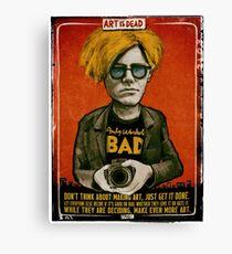 Andy Warhol 1 Canvas Print