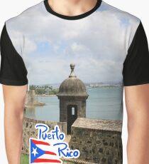 Puerto Rico - El viejo San Juan Graphic T-Shirt