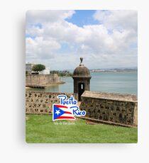 Puerto Rico - Old San Juan Canvas Print
