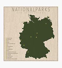 Nationalparks von Deutschland Photographic Print