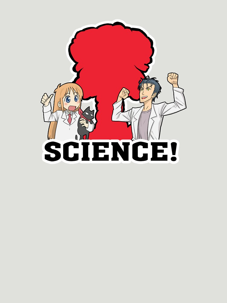 Okabe and Hakase Science Inspired Shirt by MaximizedGITS