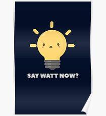 Funny Science Physics Pun T-Shirt Poster