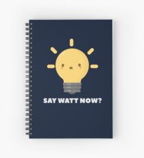 Funny Science Physics Pun T-Shirt Spiral Notebook