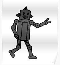 Vintage CP Robot 1 Poster