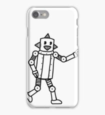 Vintage CP Robot 2 iPhone Case/Skin