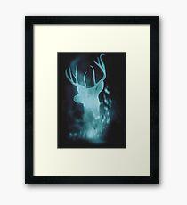 Stag Spirit Guide Framed Print