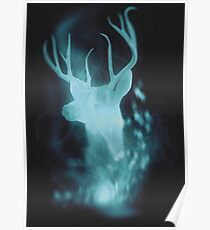 Stag Spirit Guide Poster