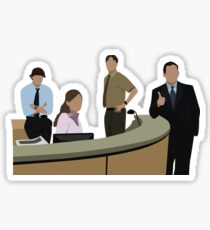 THE OFFICE CAST Sticker