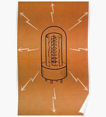 Vintage Vacuum Tube Poster