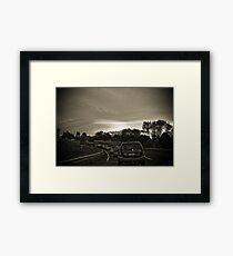 Traffic Lenticular Framed Print