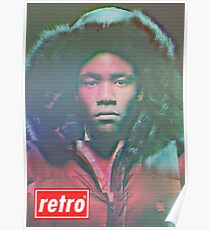 Childish Gambino - Retro Poster