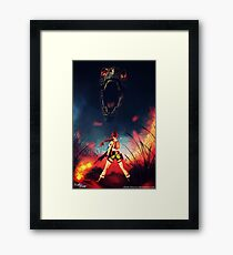 Time to be a Badass | Lara Croft, Tomb Raider Framed Print