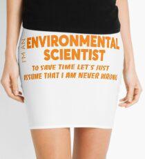ENVIRONMENTAL SCIENTIST Mini Skirt
