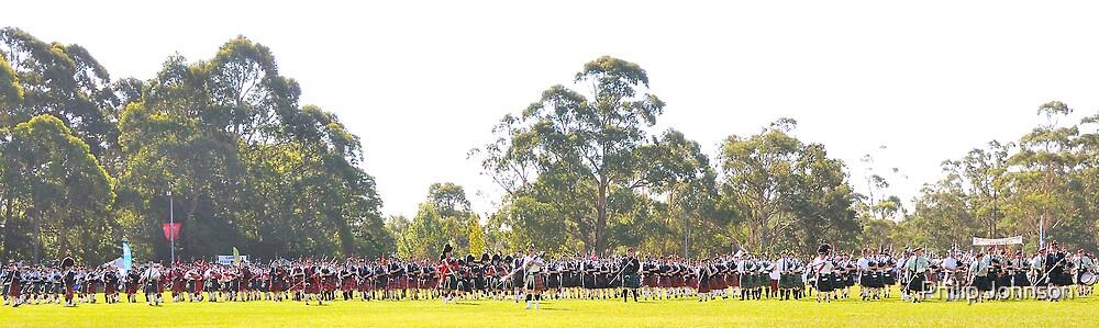 Fields of Glory - Brigadoon , 31st Highland Gathering, Bundanoon NSW Australia by Philip Johnson