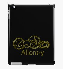 Allons-y 10th Doctor Catchphrase iPad Case/Skin