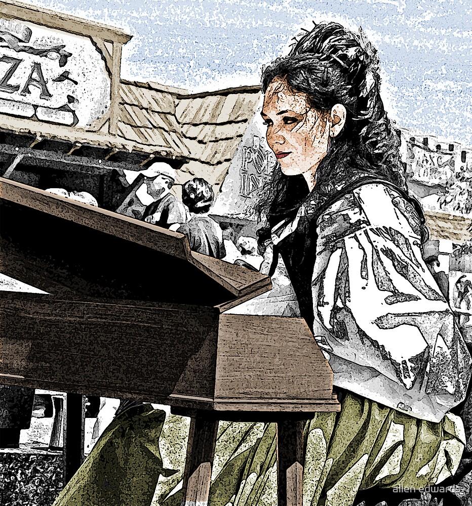 Harpsichordist by allen edwards