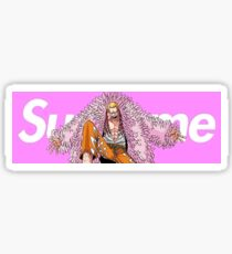 doflamingo x supreme Sticker