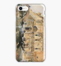 Rio dei Mendicanti Venice 1909 John Singer Sargent iPhone Case/Skin