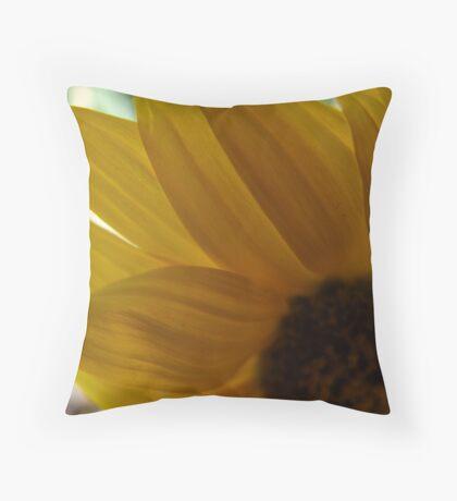 Yellow Daisy Throw Pillow