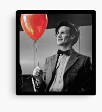 The 11th Doctor 'Happy Endings' Canvas Print
