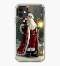 The Christmas Traveler iPhone Case