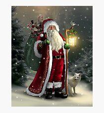 The Christmas Traveler Photographic Print