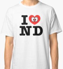 I Love ND City Classic T-Shirt