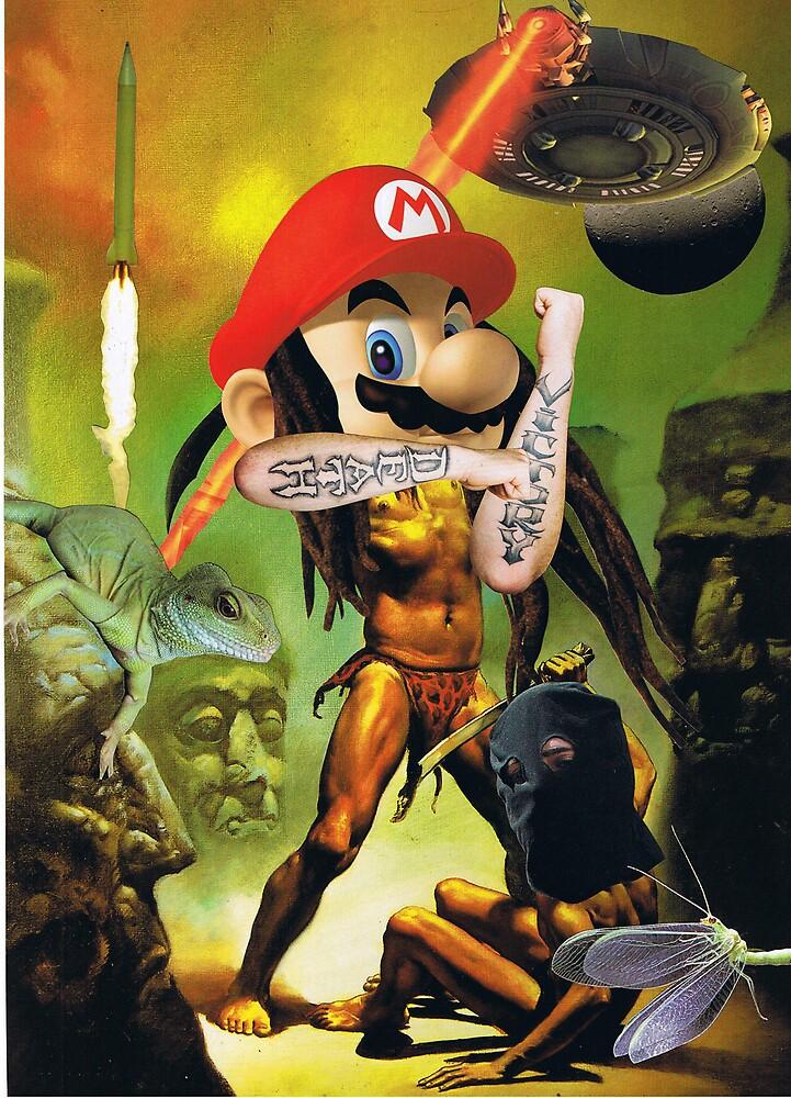 Enter the Sandman Mario by atomikboy