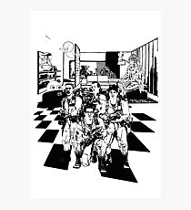 Busting Ghosts (Redada Fantasma) Photographic Print