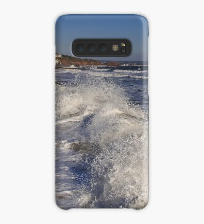 Blue Sky - White Water Case/Skin for Samsung Galaxy