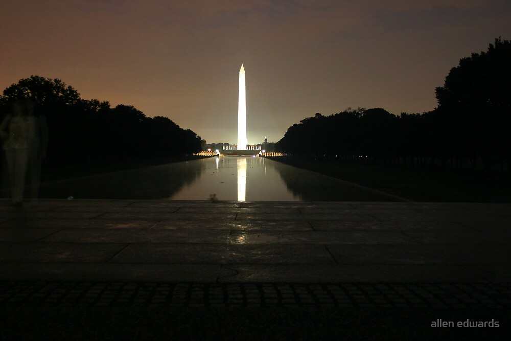 Washington Monument by allen edwards
