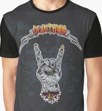 Zombie Metal \m/ Graphic T-Shirt