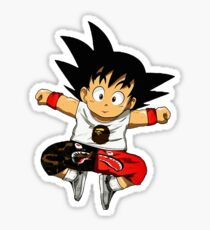 goku shark Sticker